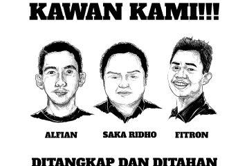 Ada Kejanggalan, Ribuan Orang Minta Bebaskan Tiga Aktivis Malang